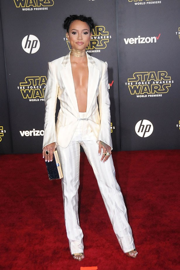 Karrueche Tran as R'N'B PRINCESS LEIA.