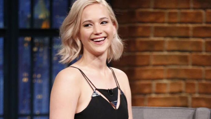 Jennifer Lawrence Says Shooting Sex Scenes With Your Boyfriend Chris Pratt Was Super Awkward