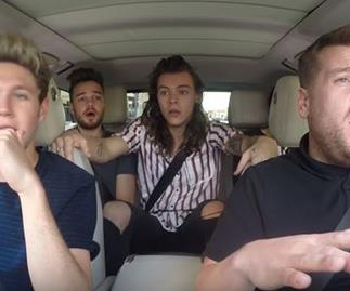 One Direction Doing Carpool Karaoke Will Explode Your Heart