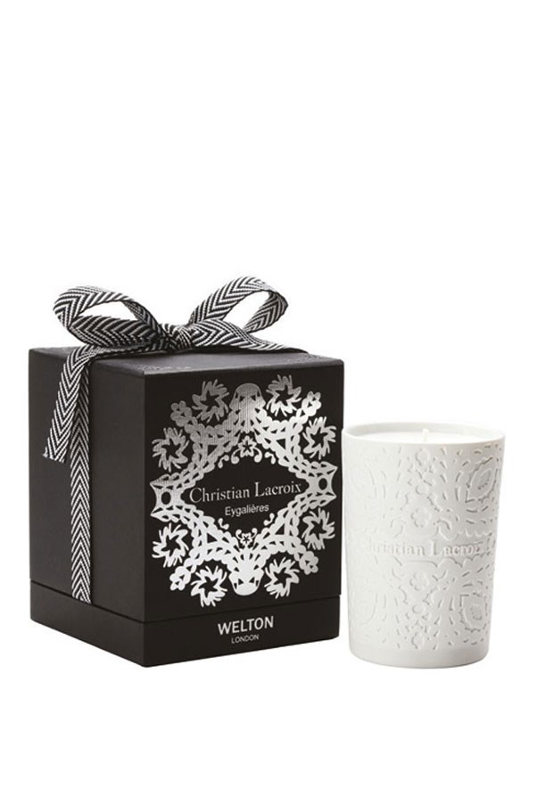 "<strong>Scented Candle in Christian Lacroix Eygalières , $119, Darcy & Duke,<a href=""http://www.darcyandduke.com.au/shop/home-fragrance/christian-lacroix-candles/christian-lacroix-eygalieres-scented-candle/""> darcyandduke.com.au</a></strong> <br><br>For the fashion buff with an eye for home decor, Eygalières combines fig and lemon for a refreshing, clean scent."