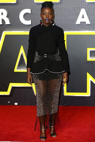 Lupita Nyong-o Is Killing It On The Star Wars Press Tour