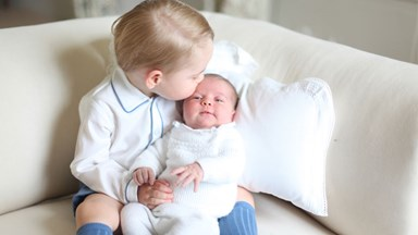 Prince George And Princess Charlotte Are Adorable In The Royal Christmas Card
