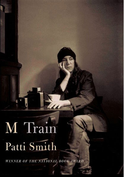 "<strong><em>M TRAIN</em> BY PATTI SMITH</strong> <br><br> ""Patti Smith does it again in this follow up to her first memoir."" - Lisa Chase, ELLE US senior features editor"
