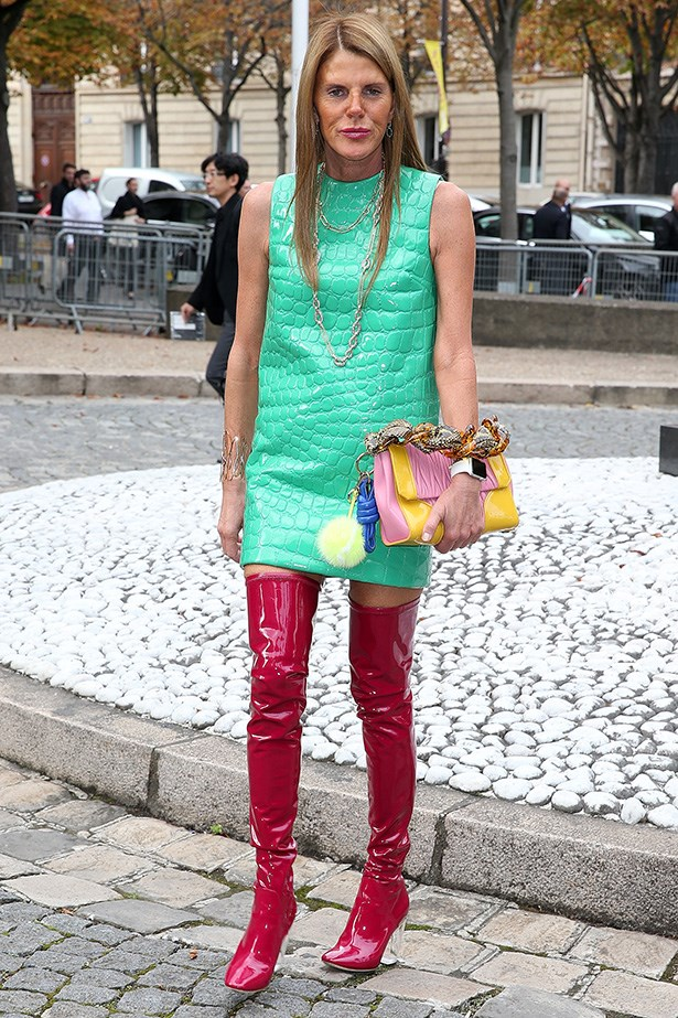 Anna Dello Russo, editor at large of Vogue Japan and total street style catnip is truly one of a kind. <br>A lover of fashion, Anna will change her outfit several times a day, dresses for an audience and is entirely unafraid to wear anything she fancies.