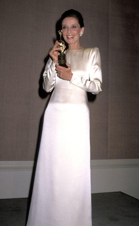 AUDREY HEPBURN, 1990