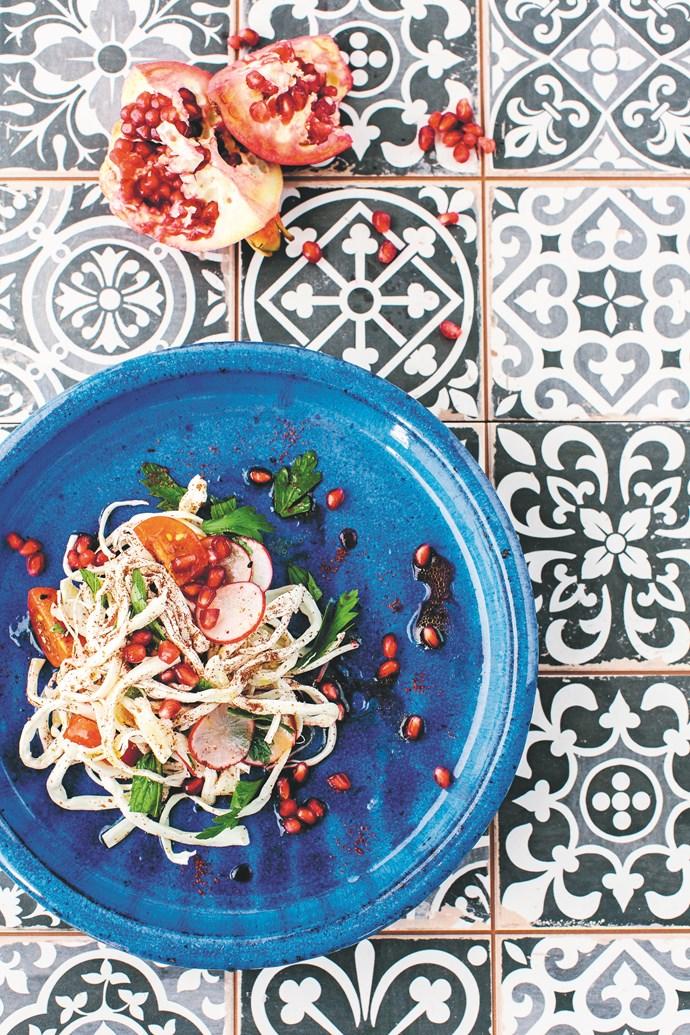 Haloumi and Sumac Salad