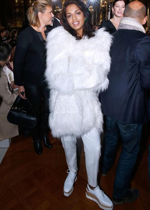 <p><strong>Celebs wearing Stella McCartney platforms: M.I.A.</strong></p> <p>The songstress proved why we all need a pair of these platform lace-ups.</p>