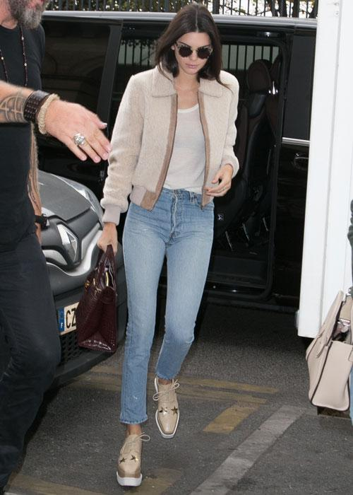 <p><strong>Celebs wearing Stella McCartney platforms: Kendall Jenner</strong></p> <p>Judging by how often she's seen wearing them, we can bet these are Kendall's favourite shoes.</p>