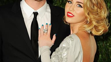 Miley Cyrus Is Casually Wearing Her Engagement Ring Again