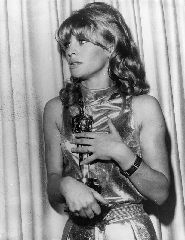 Julie Christie was the original golden girl in 1965.