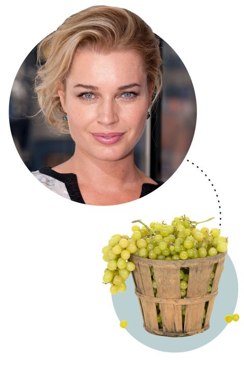 "<strong>Rebecca Romijn</strong><p> <p> ""I watch Real Housewives. I'm going to be in my bed, the best place in the world, and hopefully where children cannot have access to me. If I'm being bad I'm going to be eating a kettle corn situation; if I'm being good, it'll be fruit. And if my children are already fast asleep, I might be naked! It's a pretty sloppy situation."""