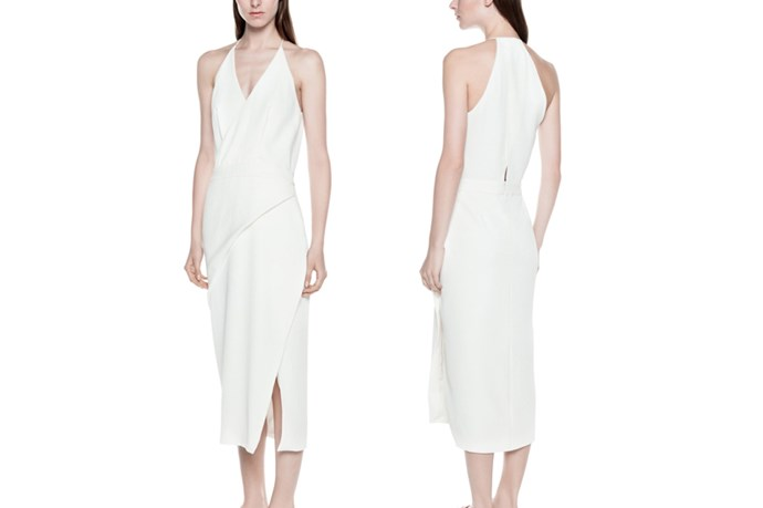 "<a href=""https://www.dionlee.com/shop/dion-lee/dresses/folded-sail-dress-a9151-r16/268049"">Dion Lee Folded Sail Dress</a>, $890."