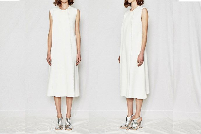 "<a href=""http://www.elleryland.com/resort-16/ready-to-wear/dresses/dolce-vita-shift-dress-1-1"">Ellery Dolce Vita Shift Dress</a>, $1,250."