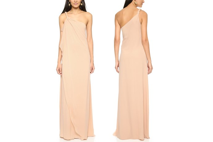 "<a href=""https://www.shopbop.com/one-shoulder-chiffon-gown-rachel/vp/v=1/1561885376.htm?folderID=2534374302063518&fm=other-shopbysize-viewall&os=false&colorId=11231"">Rachel Zoe One Shoulder Silk Maxi Dress</a>, $208."