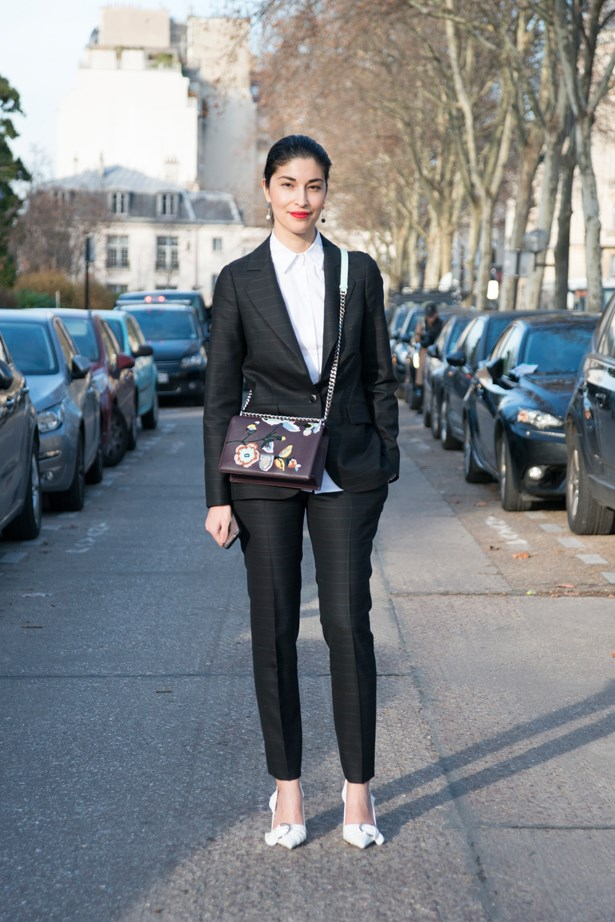 Caroline Issa at Christian Dior.