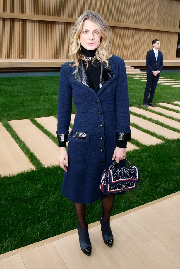 Melanie Laurent at Chanel.
