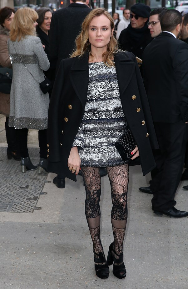 Diane Kruger at Chanel.