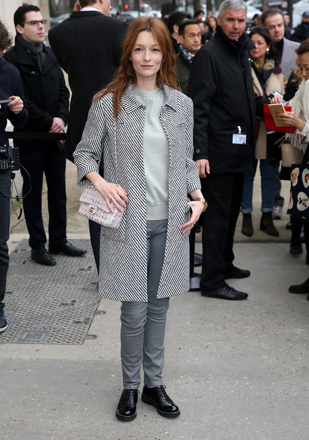 Audrey Marnay at Chanel.