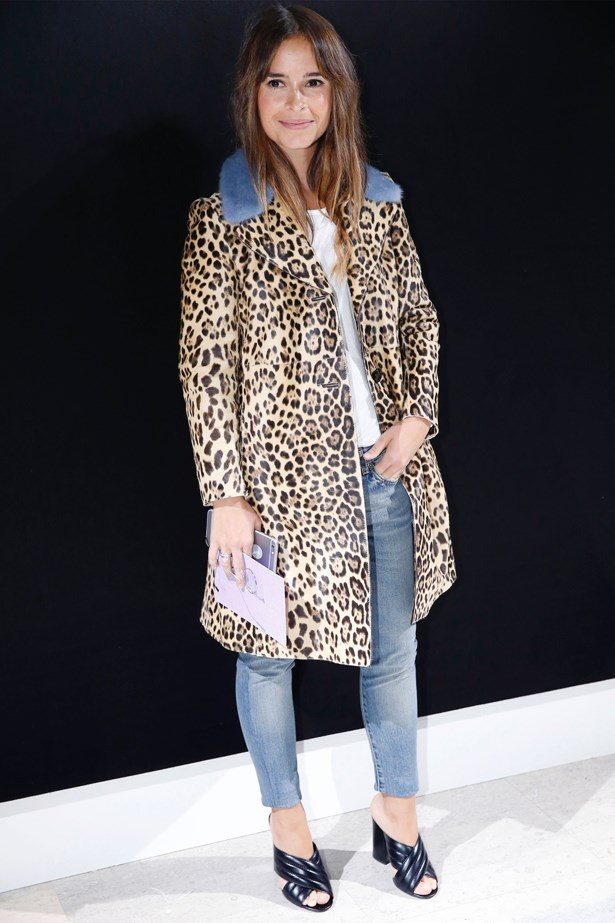 Miroslava Duma at Armani Prive.