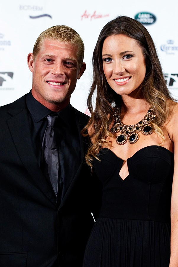 Surfer Mick Fanning and his wife Karissa Dalton