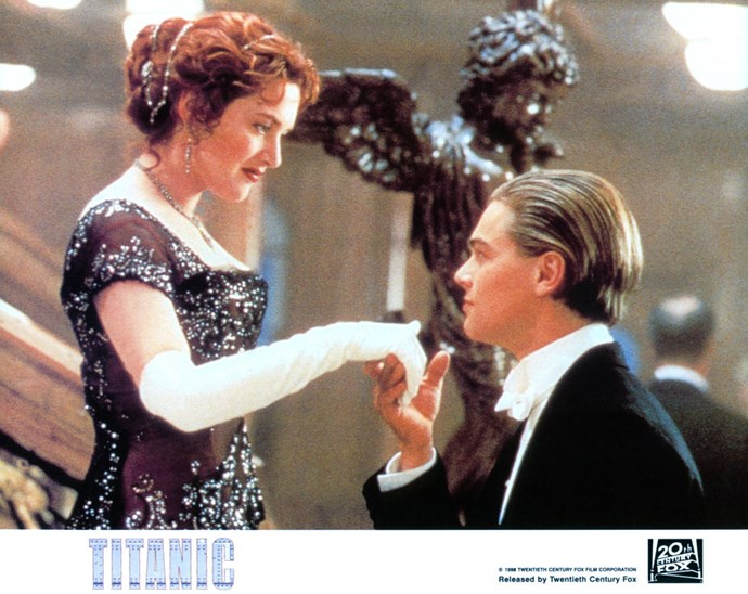 Rose DeWitt meets Jack Dawson on the Titanic and the rest is movie history...