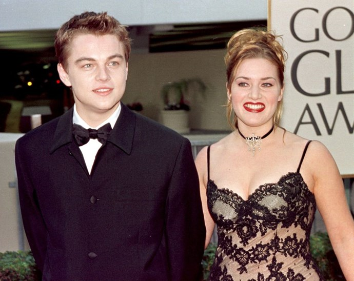 At the Golden Globes in 1998.