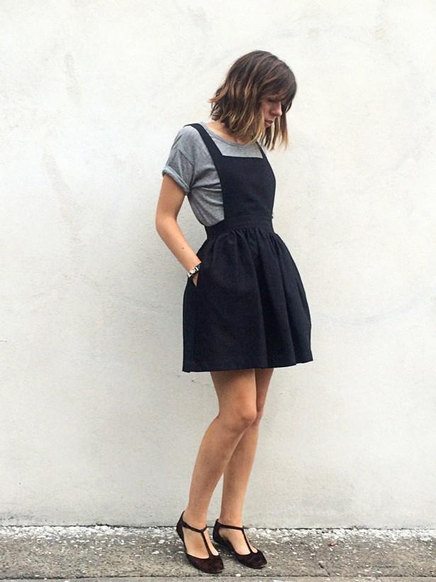 <strong>Laura Culbert</strong>, deputy chief sub-editor<p> <p> Macgraw dress, Isabel Marant Étoile T-shirt, Isabel Marant flats, Hermès bracelet.