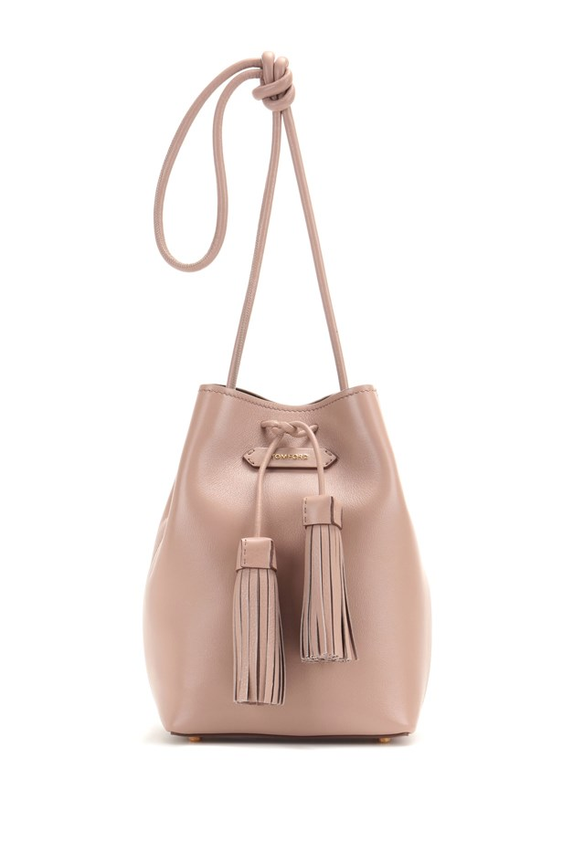 "Tom Ford <a href=""http://www.mytheresa.com/en-au/bucket-small-leather-bucket-bag.html?catref=category"">Bucket Small leather bucket bag</a>, $1,480."