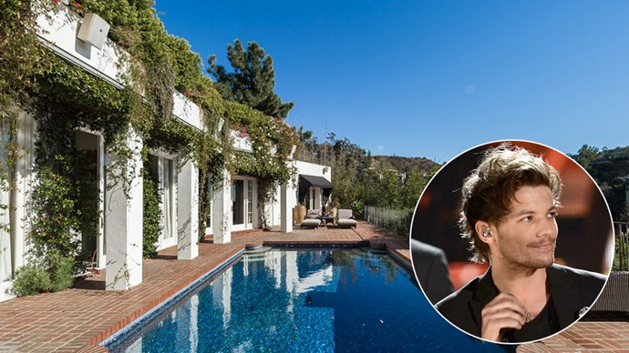 Louis Tomlinson's Los Angeles House