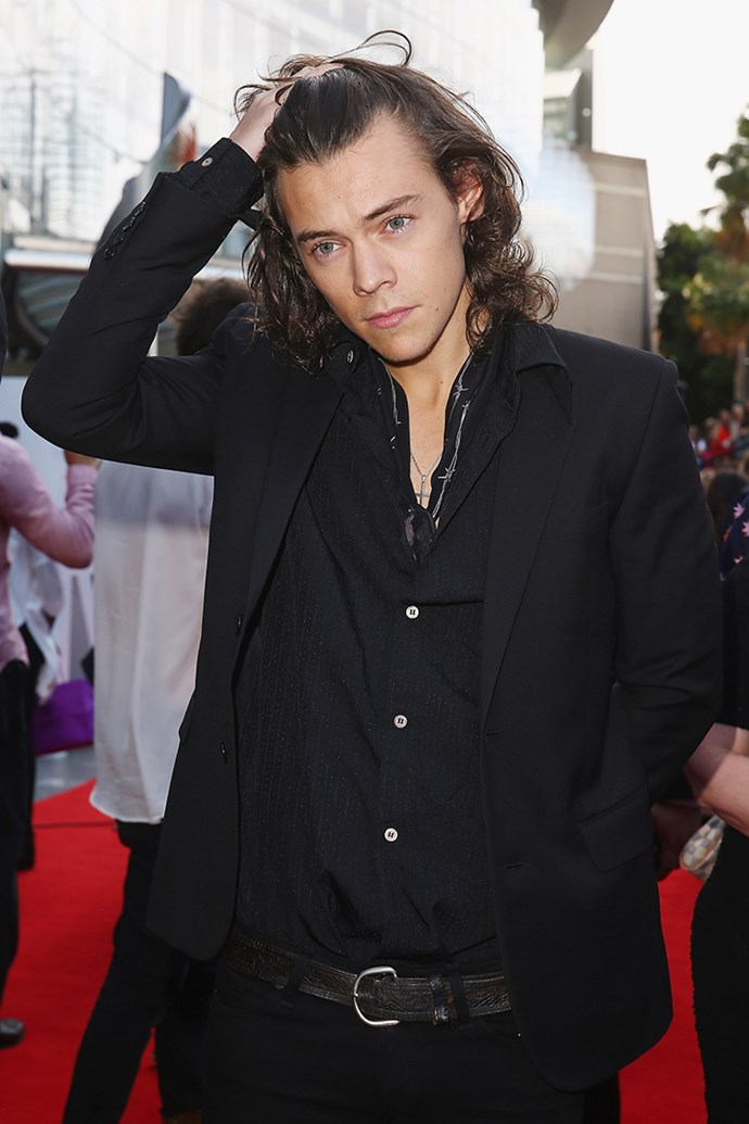 Harry Styles on the red carpet