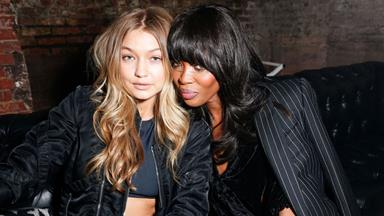 Naomi Campbell, Confidence Coach, Gave Gigi Hadid Runway Lessons