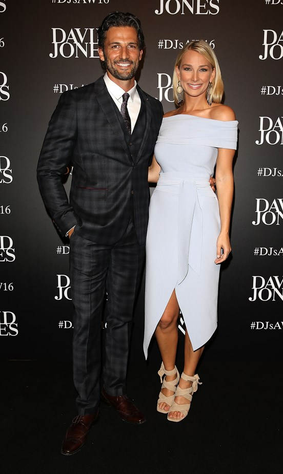 Tim Robards and Anna Heinrich.