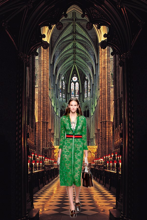 Gucci in Westminster Abbey
