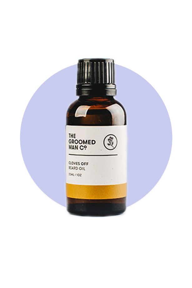 <strong>The Groomed Man Co.</strong> <br><br> An Australian skincare label focusing solely on grooming for the bearded population, The Groomed Man Co. uses essential and botanical oils in their line of richly scented, and wittily named, beard oils. Plus they donate 5% of their profits to local charities, making them the gift that keeps on giving. <br><br> Go-to product: the beard nourish-er <br><br> Case in point – a cheeky name with a functional purpose, the 'Cloves Off' beard oil helps prevent in-grown hairs, itchiness, dryness and redness, all while smelling like a spicy, chai tea latte. <br><br> Beard Oil in Cloves Off, $29.99, The Groomed Man Co., thegroomedmanco.com