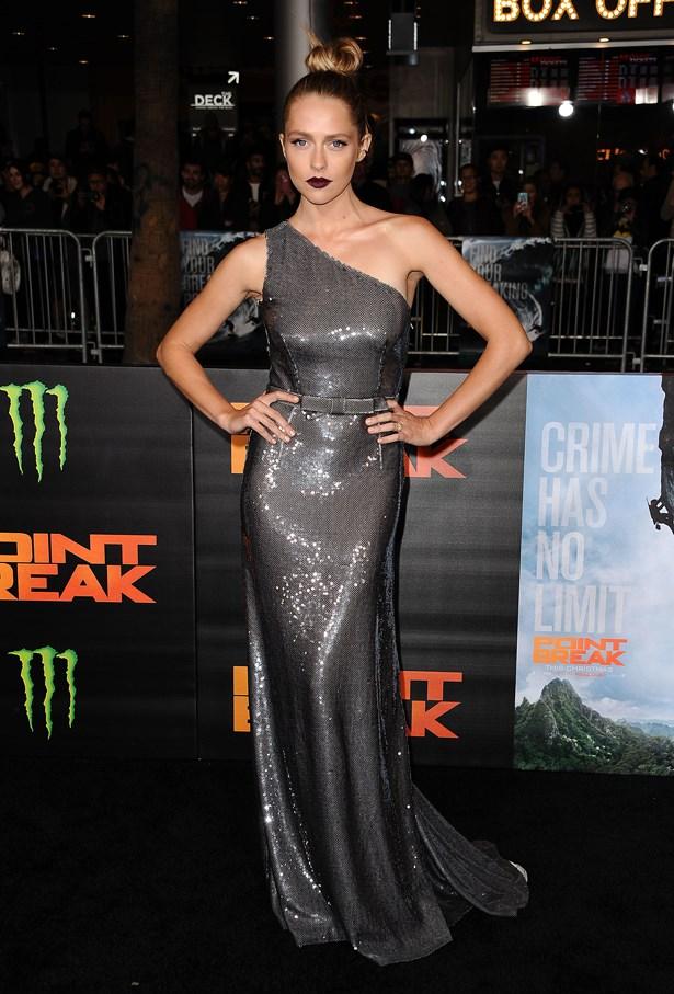 Teresa Palmer at the premiere of 'Point Break'