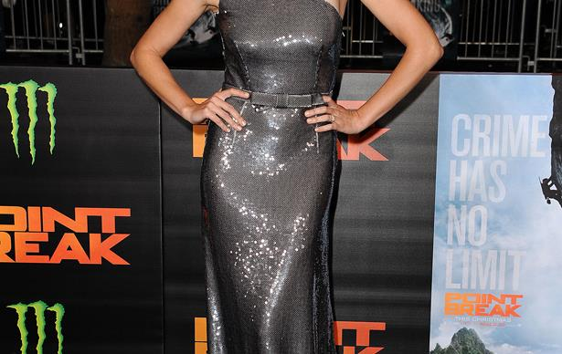 Teresa Palmer at the premiere of 'Point Break'