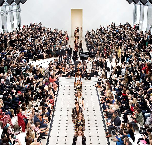 Burberry Prorsum SS16 in London