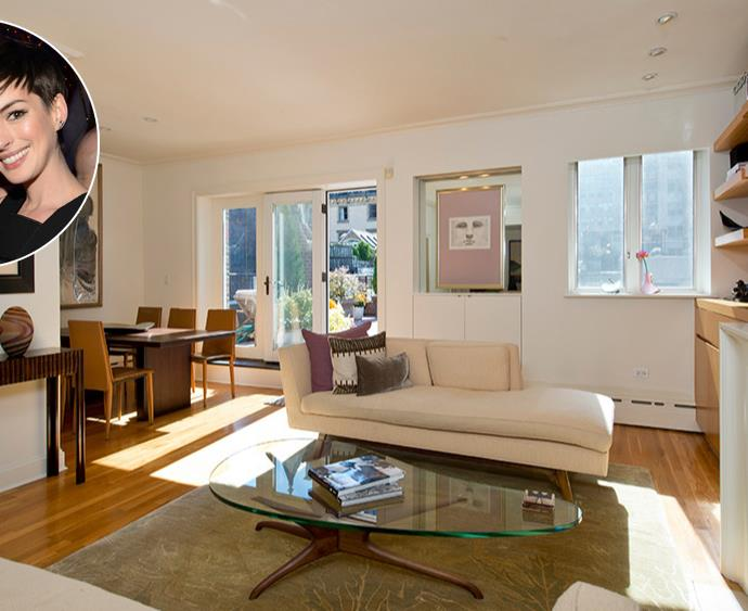 Anne Hathaway and Adam Schulman's New York City penthouse