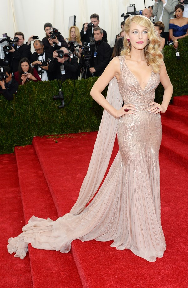 KILLER. Blake's MET Gala Gucci Premiere dress was next level.