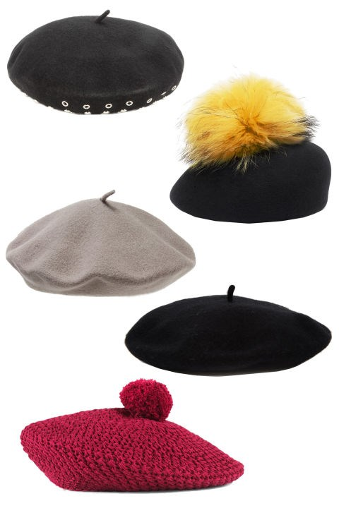 <em><strong>BERETS</strong></em><p> <p> Speaking of Gucci, the brand's knitted pom hats have us reconsidering winter headgear. This season we're guessing street style stars will choose the beret over the beanie. <p> Marc by Marc Jacobs Number 1 Embellished Wool Beret, $281; mytheresa.com <p> Eugenia Kim Coco, $203; eugeniakim.com <p> Parkhurst Classic Wool Beret, $24; nordstrom.com <p> ASOS Wool Beret, $21; asos.com <p> Gucci Knit Cotton Hat, $410; gucci.com
