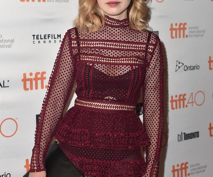Odessa Young Australian actress Toronto Film Festival Looking For Grace premiere