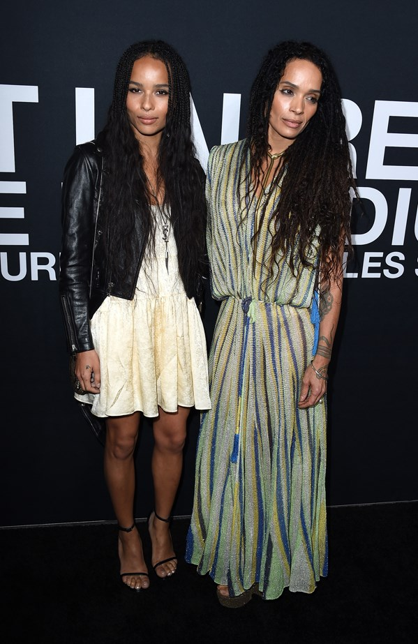 Zoe Kravitz and Lisa Bonet.