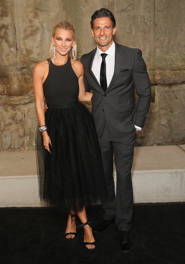 Anna Heinrich and Tim Robards.