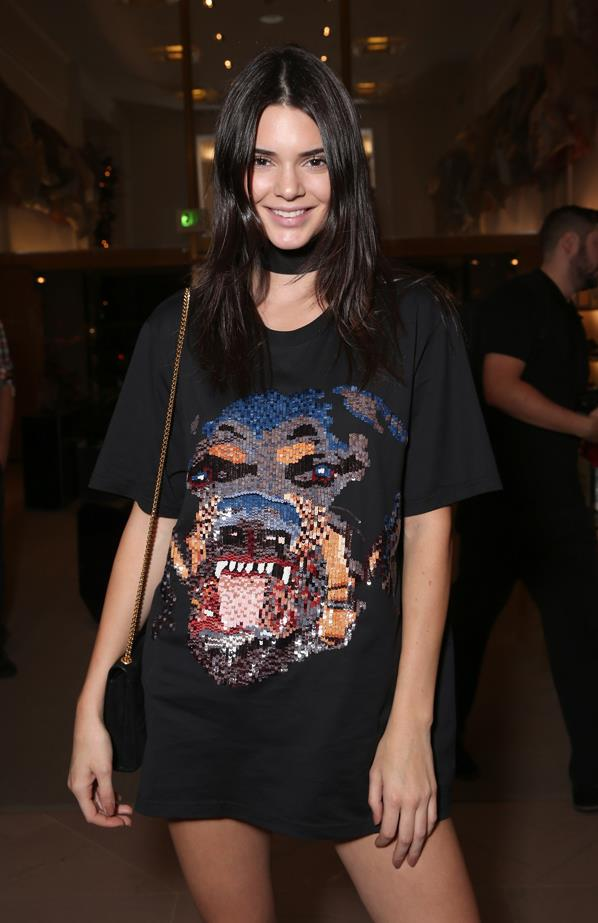 <strong>7. Kendall Jenner</strong><p> <p> Net Worth: $16 million AUD.<p> <p> Money making: Although she makes regular KUWTK appearances (for which she allegedly makes $5,000 a pop), Kendall gets most of her money through her high-profile modelling gigs with Estee Lauder, Calvin Klein, Givenchy, Marc Jacobs, Fendi and Balmain.<p>