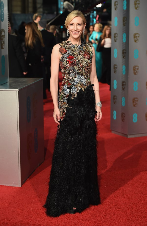 Cate Blanchett at the 2016 BAFTAs.