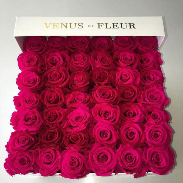 Who sent Khloe Kardashian this box of roses? James Harden? Lamar Odom? Kim? Kourtney? Herself? We might never know.