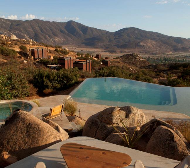 Boutique luxury hotel Endemico in Mexico