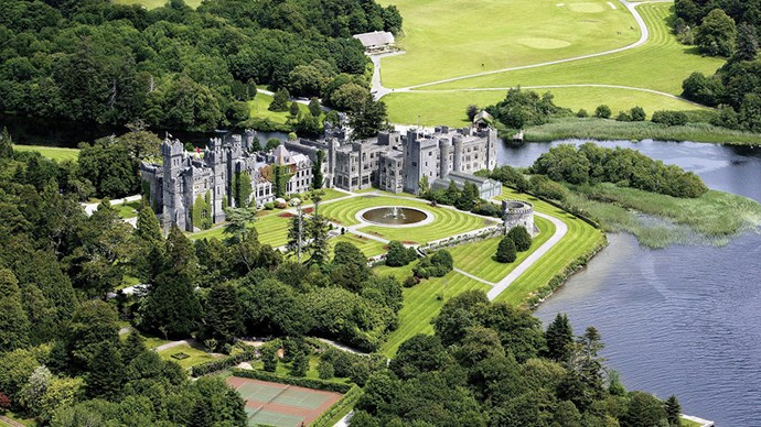 Ashford Castle, Ireland: A frequent award winner and list topper, the castle (we repeat – <em>castle</em>) is set on 350 acres and dates back to 1228. That famous Irish hospitality comes free of charge.
