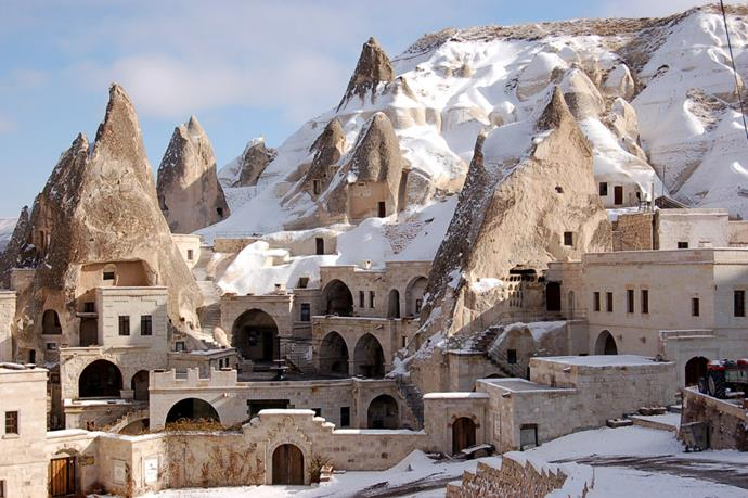 Fairy Chimney Inn, Turkey: A family-run guesthouse in Cappadocia that's no fuss, but much loved for its traditional Turkish experience and adorably twee design (carved out of volcanic rock).