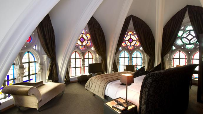 Martin's Patershof hotel, Belgium: Head a little out of Brussels and you can stay in this former house of worship. Them stained glass windows, though…